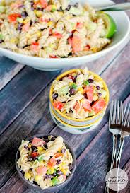 Creamy Pasta Salad Recipes by Jalapeno Ranch Pasta Salad Simply Stacie