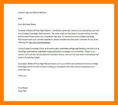 12 volunteer letter samples self introduce