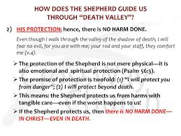Your Rod And Your Staff Comfort Me The Lord Is My Shepherd 3 Protection A Four Part Series On