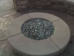 Fire Glass Fire Pit by Propane And Natural Gas Fire Pits With Fireglass
