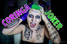 halloween joker makeup
