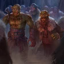 zombie orc horde by texahol monster manual pinterest horde