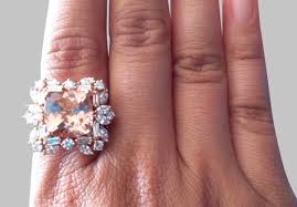 5 carat engagement ring a buyer s guide to morganite rings engagement rings