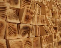 reclaimed wood wall wood mosaic geometric by artglamoursligo