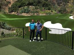 mark wahlberg u0027s backyard golf practice facility will fill you with