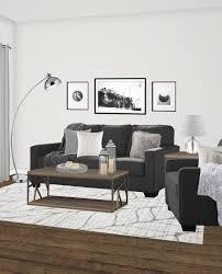 scandinavian rustic living room rachel elise interior design