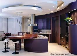 adorable modern ceiling design for kitchen lovely home interior