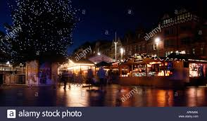 nottingham city has had a german market at time for
