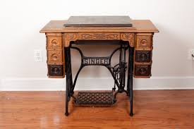 Antique Singer Sewing Machine Table Antique Singer Treadle Sewing Machine Model 15 Tiffany 1915 Yeo Lab