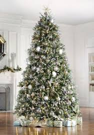 christmas tree with snow christmas trees with snow the dunhill fir faux christmas tree