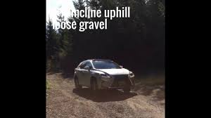 lexus rx400h off road review lexus rx awd snow and offroad youtube