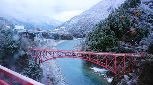kurobe gorge autumn winter 2017 welcome