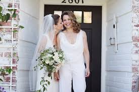 tomboy wedding dress and the wore the trousers bridal musings weddbook