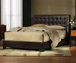 Leather Headboard Queen Bed by 43 Best Beds Images On Pinterest Bedroom Furniture 3 4 Beds And