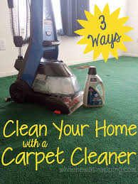 3 ways i wash away winter with my bissell carpet cleaner plus