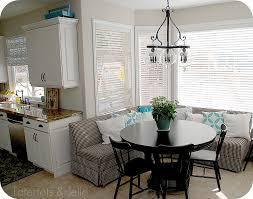 aqua and white kitchen banquette u2013 home design and decor