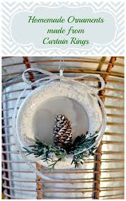 ornaments made from curtain rings
