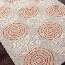 3 X 5 Indoor Outdoor Rugs by Jaipur Rugs Grant Discus 2 X 3 Indoor Outdoor Rug Gray Orange