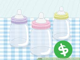 baby bottle favors 3 ways to make baby bottle favors for a baby shower wikihow