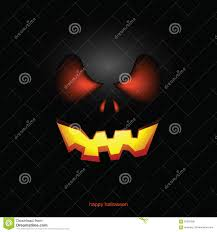 halloween pumpkin mask background stock vector image 95597390