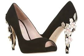 wedding shoes black shoes by harriet wilde bridal heels black with embellishing