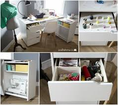 Craft Desk With Storage Craft Tables You Can Buy Instead Of Diy Infarrantly Creative