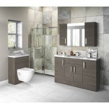 hudson reed grey avola 400mm compact vanity unit off503 88 29