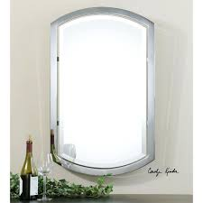 wall ideas chrome wall mirror large chrome wall mirrors brushed