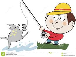 fishing clipart caught fish pencil and in color fishing clipart