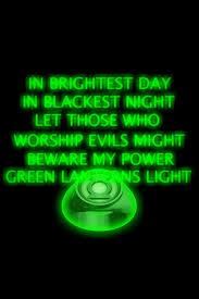 green lantern neon light green lantern ring and oath background by kalel7 on deviantart