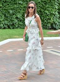 pippa middleton u0027s floral dress royal celebrity fashion