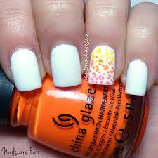 nails are fab white nails u0026 cheetah print