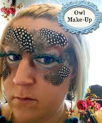 twenty8divine owl make up because feathers are fun