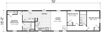Single Wide Mobile Home Floor Plans 2 Bedroom Highmore 15 X 70 1062 Sqft Mobile Home Factory Expo Home Centers