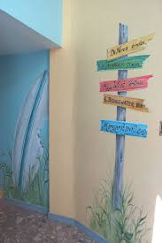 best 20 ocean mural ideas on pinterest ocean kids rooms sea hand painted beach mural in hallway