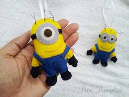 felt minion felt plush despicable me minion soft stuffed