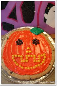 Halloween Decorated Sugar Cookies Cookie Recipe Easy Pumpkin Decorated Chocolate Chip Cookie The