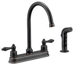 Kohler Bronze Kitchen Faucets Gorgeous Oil Rubbed Bronze Kitchen Faucet And Designers
