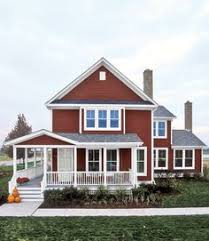 House Colors Exterior The 8 Best Red Exterior House Paints Exterior House Paint