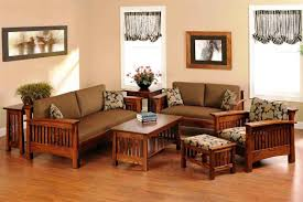 Prepossessing  Dark Wood Living Room Furniture Decorating - Indian furniture designs for living room
