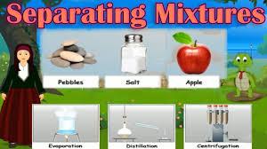 separating mixtures different methods distillation evaporation