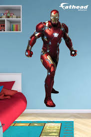 best 25 superhero wall art ideas on pinterest marvel childrens iron man fathead vinyl wall decals are like posters and wall stickers with super powers
