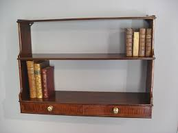 Hanging Wall Bookshelves by Good Hanging Bookshelves On Furniture With Oak 3 Tier Wall Hanging