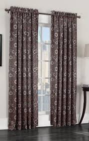 Chocolate Curtains Eyelet Solar Room Darkening Panel Chocolate Lichtenberg View All