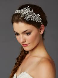 hair crystals best selling wedding hair vine with lavish crystals sprays