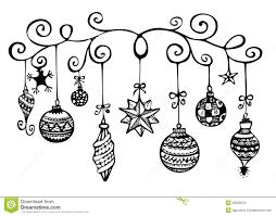 christmas tree sketch pencil drawing christmas lights decoration