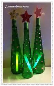 green bottle xmas tree craft holidays pinterest tree crafts