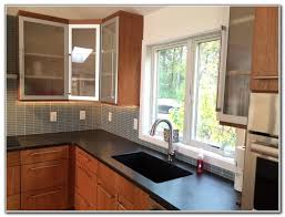 Glass Inserts For Kitchen Cabinet Doors Kitchen Cabinet Frosted Glass Inserts Cabinet Home Decorating