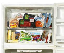 how to make your fridge look like a cabinet how to organize your freezer