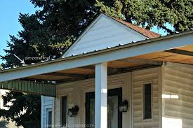 covered deck with metal roof home u0026 gardens geek